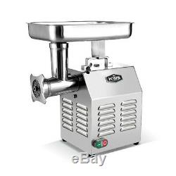 KWS Professional Commercial Stainless Steel Meat Grinder TC-8 0.75HP