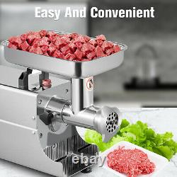 Kitchen Heavy Duty Stainless Steel Electric Meat Grinder 176LBS/H