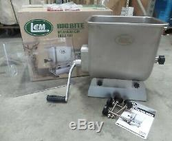 LEM 1734 Fixed Position Manual or Motorized Mixer 50 lbs. Stainless Steel