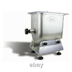 LEM 25 lb commercial stainless steel meat mixer. Almost brand new
