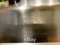 LEM Big Bite #22 17811 Stainless Steel 750W Meat Grinder WithAdd. 6mm plate