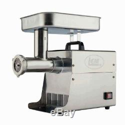 LEM Meat Grinder Size 8 Model 779 Stainless Steel AUTHENTIC