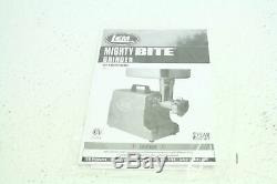LEM Products 17791 Big Bite 8 Stainless Steel Electric Portable Meat Grinder