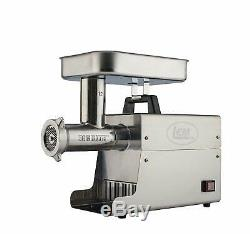LEM Products Stainless Steel Big Bite Electric Meat Grinder Industrial Grade