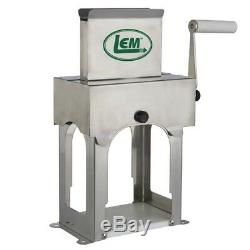 LEM Vertical Meat Tenderizer and Meat Cuber Stainless Steel
