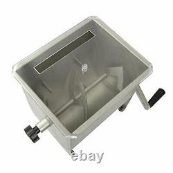 MM-102, Meat Mixer with Stainless Steel Hopper, 20lbs