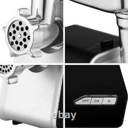 Max 2000W Electric Stainless Steel Meat Grinder, Meat Mincer, Sausage Stuffer
