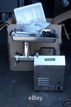Meat Grinder, 7/8 H. P, Stainless Body (b New), M. Options, 900 Items On E Bay