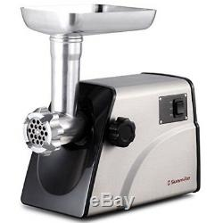 Meat Grinder Electric 1HP 800W Max Power Stainless Steel Sausage Maker New