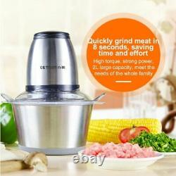 Meat Grinder Stainless Steel Chopper Electric Automatic Machine Food Processor