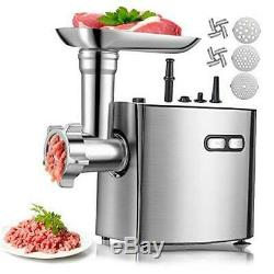 Meat Grinder for Home Use, ALTRA Stainless Steel Electric Meat Grinder, Sausage