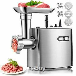 Meat Grinder for Home Use, cheffano ALTRA Stainless Steel Electric Meat
