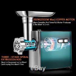 Meat Grinder for Home Use, cheffano ALTRA Stainless Steel Electric Meat Grinder