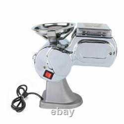 Meat Grinders 600W Electric Meat Grinder 110V Commercial Stainless Steel Cutter
