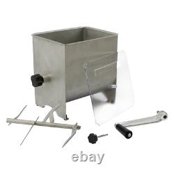 Meat Mixer Stainless Steel Removable Mixing Blade Sausage Jerky Kitchen Tool