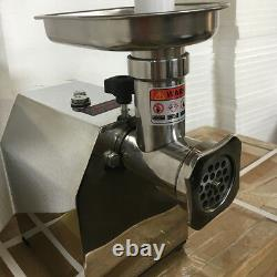Meat grinder commercial household Minced meat multi-function stainless steel ol
