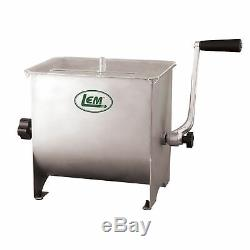 Mighty Bite 20lb Capacity Stainless Manual Mixer
