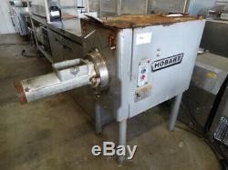 Model 4146 HOBART STAINLESS STEEL MEAT GRINDER 3-phase electric