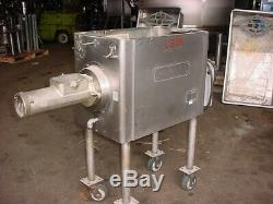 Model 4146 HOBART STAINLESS STEEL MEAT GRINDER #32 3-phase electric