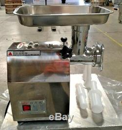 NEW Commercial Electric Meat Grinder 3000W Stainless Steel Heavy Duty Mincer