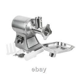 NEW Commercial Electric Stainless Steel Meat Grinder Home Machine 110V 150kg/H