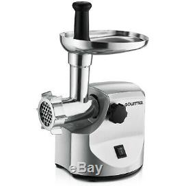 NEW Gourmia GMG-7000 Meat Grinder Tool Machine Stainless Steel with Accessories