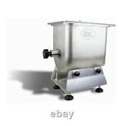 NEW LEM Products 1733 25 lb. Capacity Stainless Steel Manual Meat Mixer