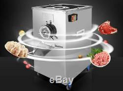 New Condition 1 pc 220V Electric Meat Grinder Feed Processe Full Stainless Type