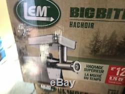 New Lem Products 1780 Big Bite #12.75Hp Stainless Steel Electric Meat Grinder