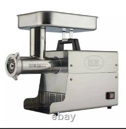 New Lem Products 17801 Big Bite #12.75Hp Stainless Steel Electric Meat Grinder