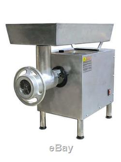 OMCAN MG-BR-0022 #22 Head 2.0 HP Stainless Commercial Electric Meat Grinder NEW