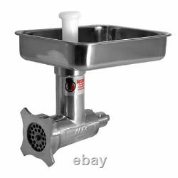 OPEN BOX Alfa #12 Meat Grinder Complete Stainless Attachment Model 12SSCCA