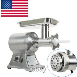 Portable Electric Stainless Small Detachable head Meat Grinder Machine 650W