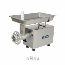 Pro-Cut #12 Stainless Steel Electric Meat Grinder