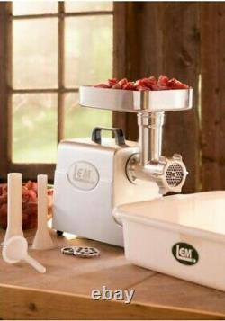 QUALITY Electric Meat Grinder Slicer Commercial Kitchen Grinding Stainless Steel