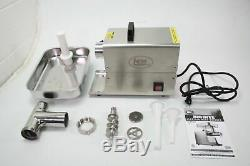 READ NOTES LEM Products 17771 Big Bite #5 0.35HP Stainless Steel Meat Grinder