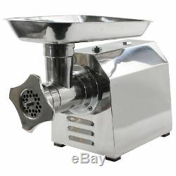 Sportsman MEGRINDUL 1HP 650W Stainless Steel Electric Meat Grinder with Sausa