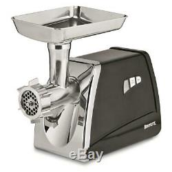 Stainless Steel #12 Electric Meat Grinder 0.75 HP Food Processor 575W Heavy Duty