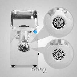Stainless Steel Commercial Meat Grinder 850W Electric Industrial Butcher