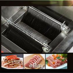 Stainless Steel Electric Meat Grinder Slicer Mincer Meat Cutting Machine 220V CE