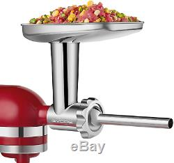 Stainless Steel Food Grinder Accessories For KitchenAid Stand Mixers Including S