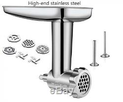Stainless Steel Food Grinder Attachment 8.5in5.27in6.1 in
