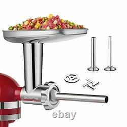 Stainless Steel Food Grinder Attachment fit KitchenAid Stand Mixers Including