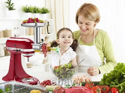 Stainless Steel Food Grinder Attachment for KitchenAid Stand MixerDurable Meat G