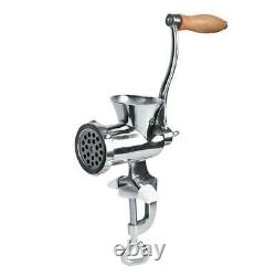 Stainless Steel Manual Spices Meat Grinder Mincer Grinding Machine with Stu