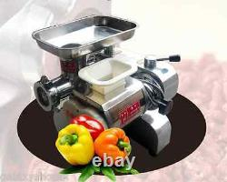 Stainless steel meat slicer mincer grinder, meat cutting machine
