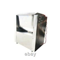 TECHTONGDA 110V 10.5 Gallon/40L Commercial Electric Meat Mixer Stainless Steel