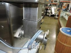Talsa W32K-ENT Commercial Stainless Steel Meat Grinder #32 Head Size 2.5 HP