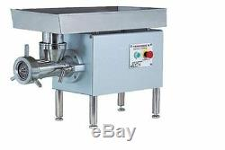 Thunderbird TB-500E Stainless Steel No. 32 5HP Meat Grinder NEW