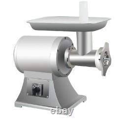 US Commercial Electric Stainless Steel Small Household Meat Grinder Machine 650W